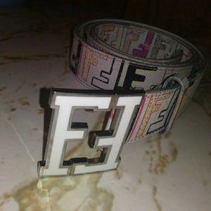 Fendi belt with buckle